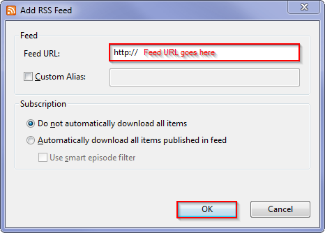 torrent rss feeds